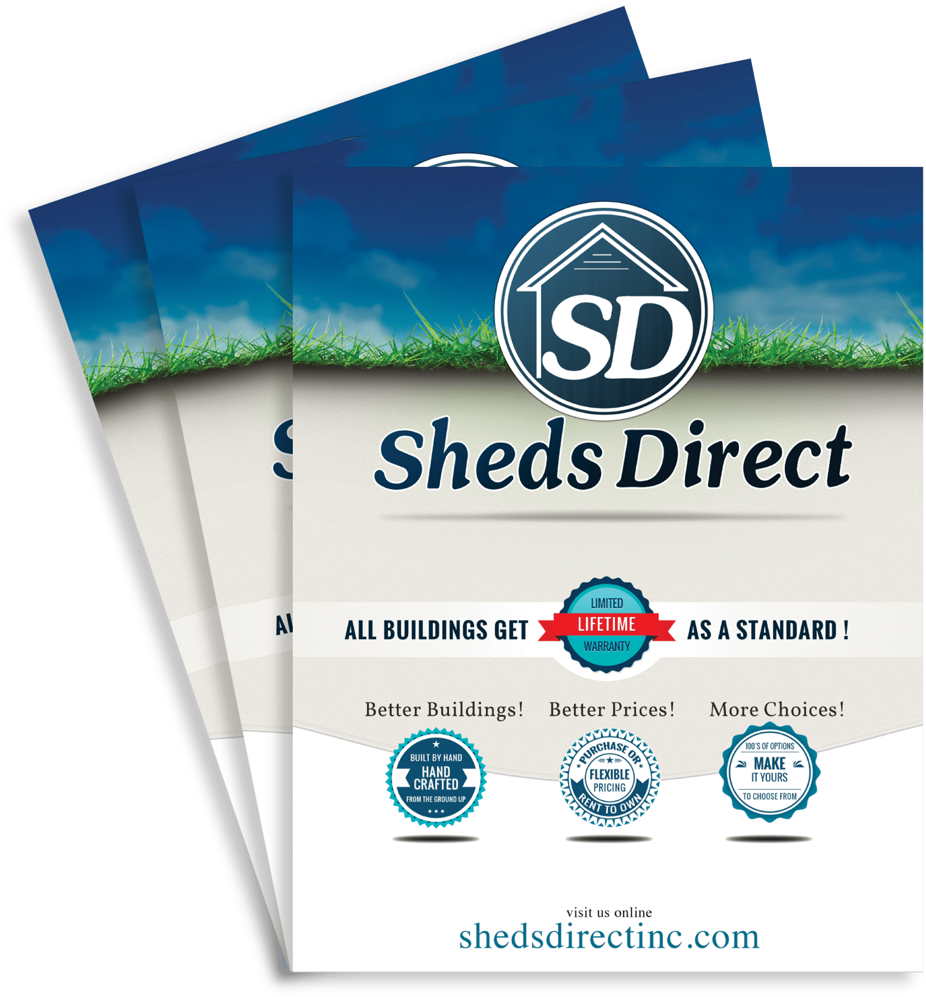 Direct Pricing: Sheds Direct, Inc. -Sheds Direct, Inc