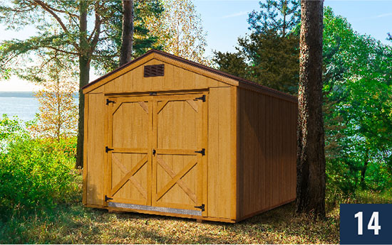 Amish built Smart Shed from Sheds Direct, Inc.