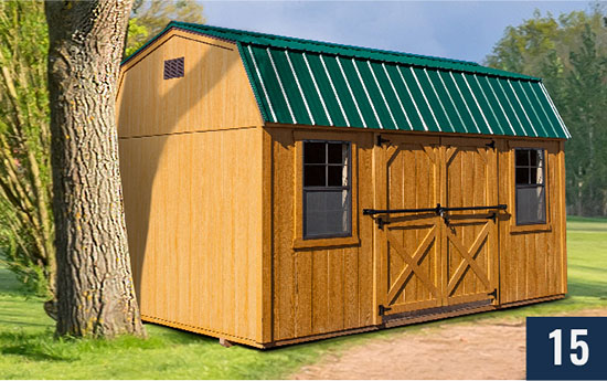 Amish built Smart Barn from Sheds Direct, Inc.