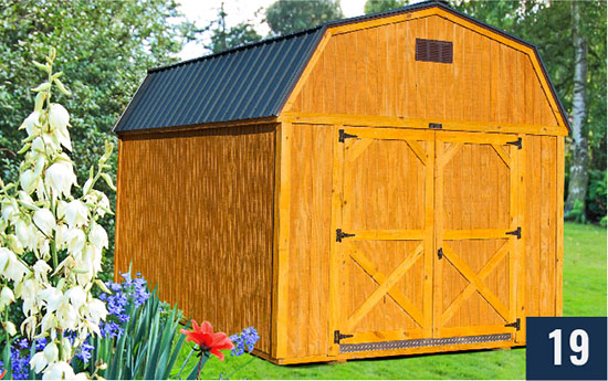 Amish built Lofted Barn from Sheds Direct, Inc.