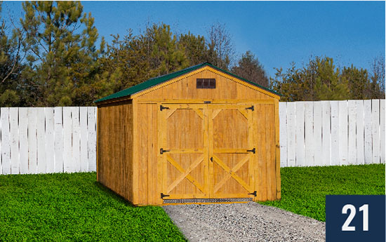 Amish Built Utilty Shed from Sheds Direct, Inc.