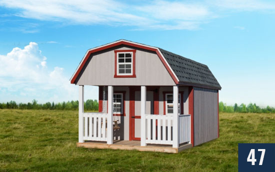Custom Playhouse Barn for Kids from Sheds Direct, Inc.