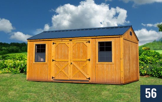 Utility Amish built Shed from Sheds Direct, Inc.