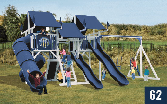 Custom Playset for Kids from Sheds Direct, Inc.
