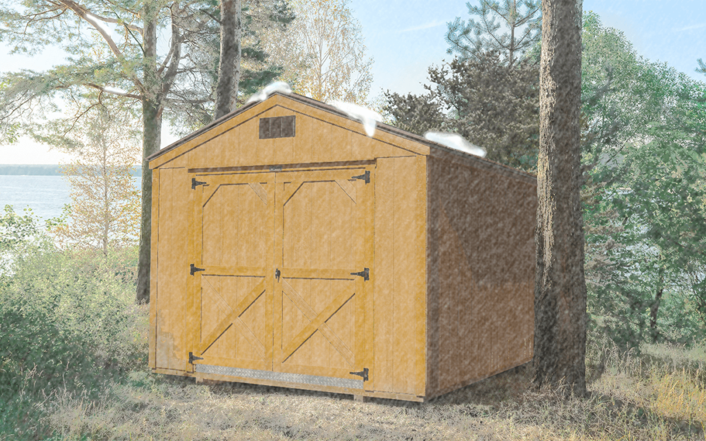 Preparing a Equipment for Storage in a Shed During the Winter
