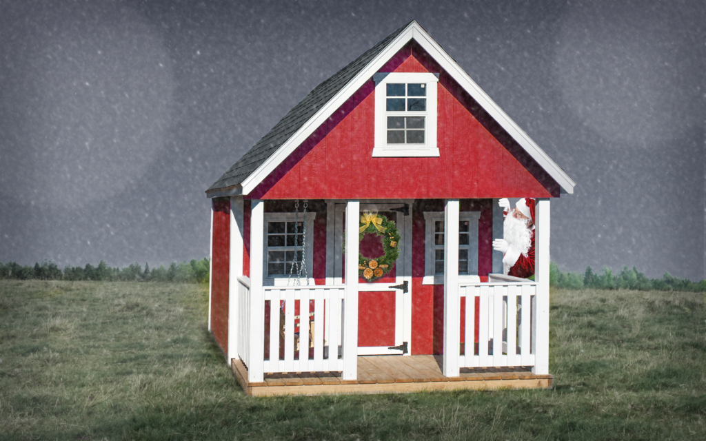 Sheds Direct Playhouses for Christmas