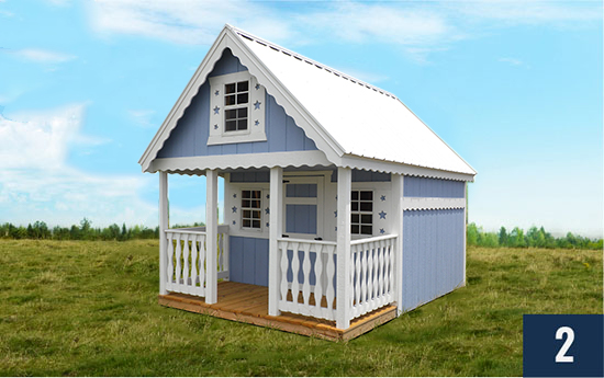 Sheds Direct Candyland Clubhouse Childrens Playhouse Building