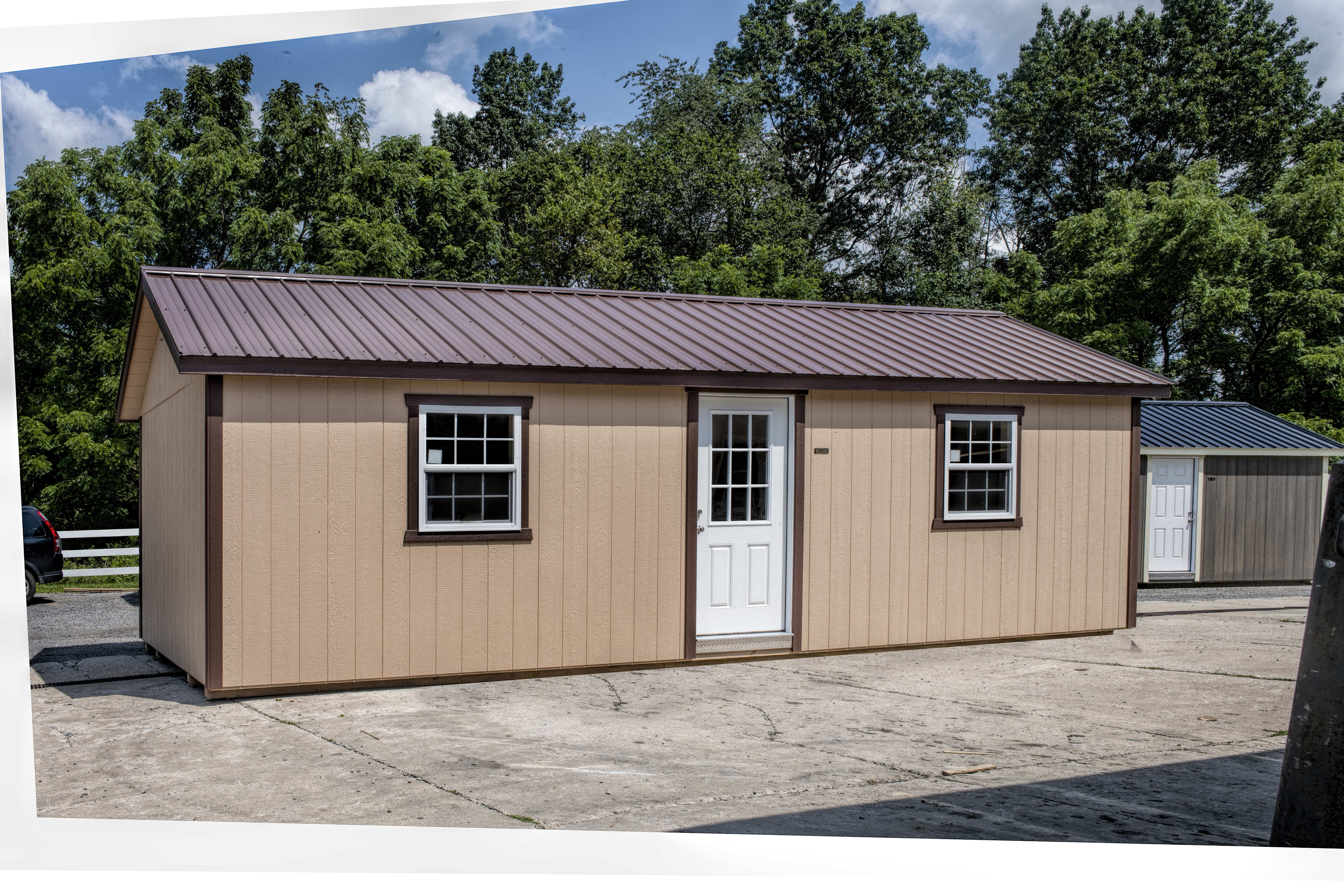 Sheds Direct Painted Deluxe Shed