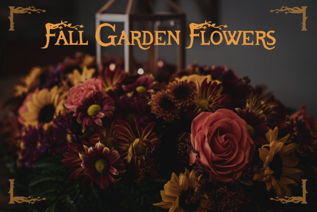 Fall Garden Flowers