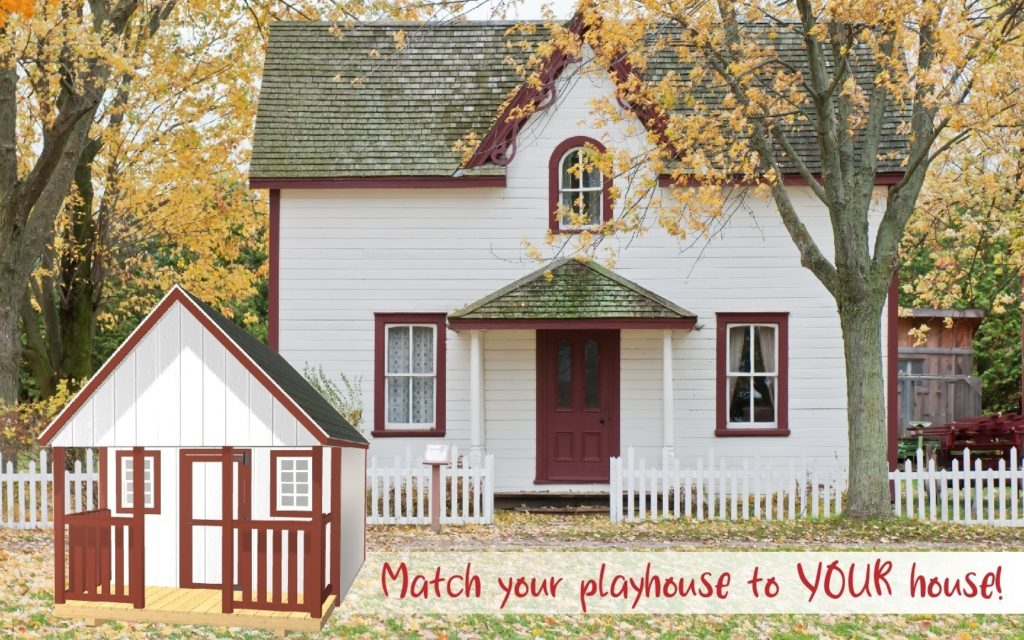 Match Your Playhouse to Your House