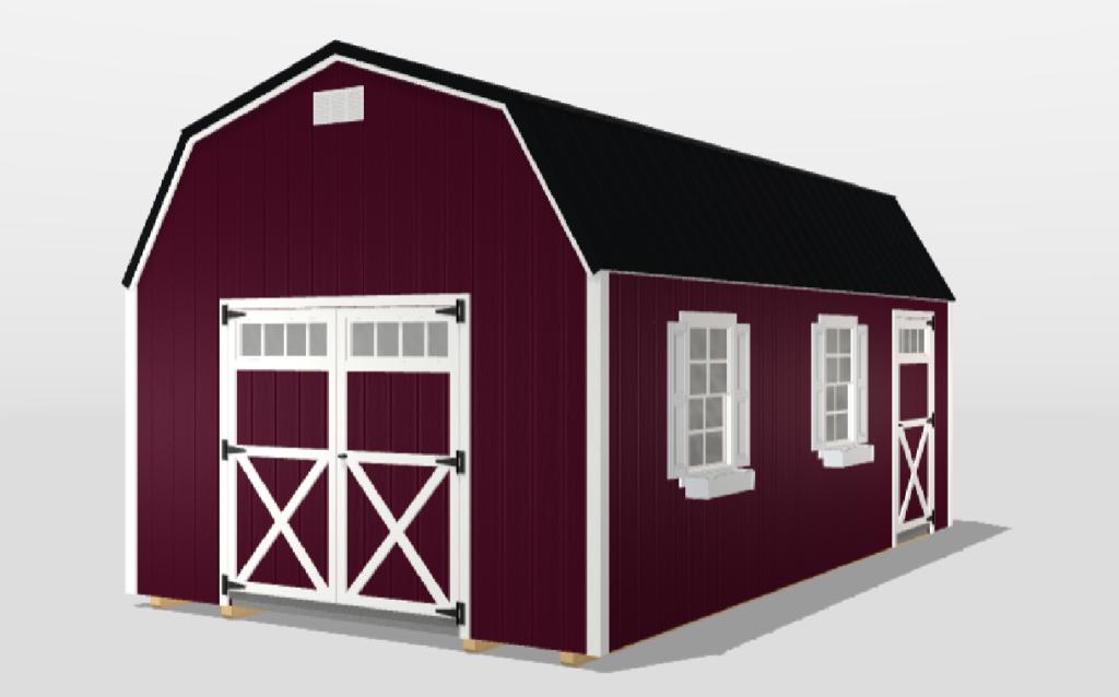 Painted Smart Barn